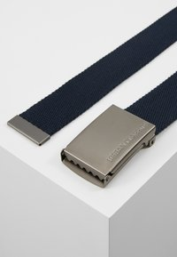 Urban Classics - BELTS - Belt - navy/silver-coloured - 2