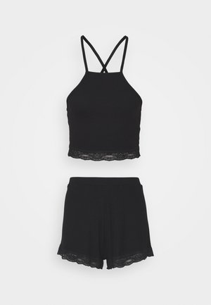 SQUARE SET - Pyjama - black