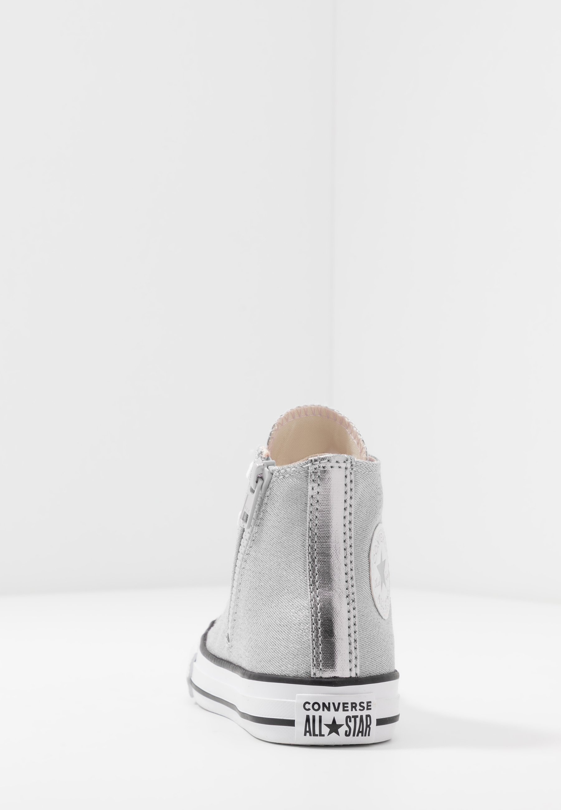 Converse CHUCK TAYLOR ALL STAR SIDE ZIP - Sneakers alte - silver ...