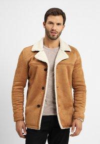 INDICODE JEANS - CROCKFORD - Light jacket - camel - 0