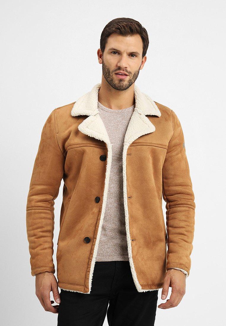 INDICODE JEANS - CROCKFORD - Light jacket - camel
