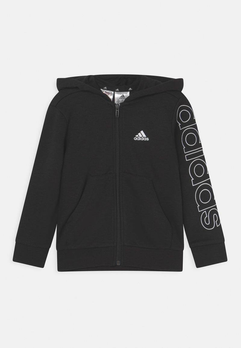 adidas Performance - UNISEX - Sweater met rits - black/white
