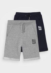 Blue Seven - SMALL BOYS  2 PACK - Shorts - nachtblau/nebel - 0