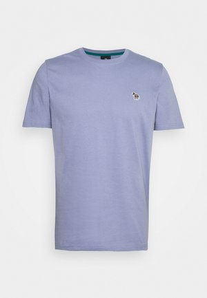 MENS ZEBRA - Basic T-shirt - light blue