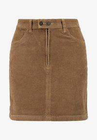Mini skirt - brown/toasted coconut