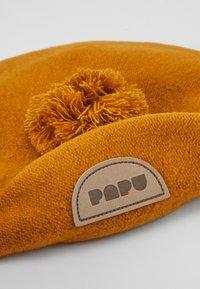 Papu - POM POM BERET - Beanie - earth brown - 3