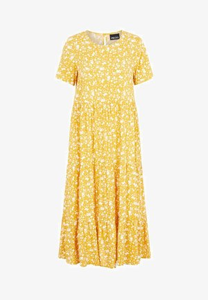 Day dress - nugget gold