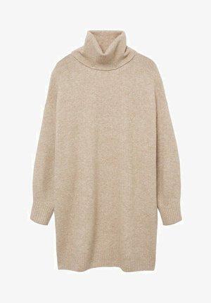 TALDORA - Jumper dress - beige