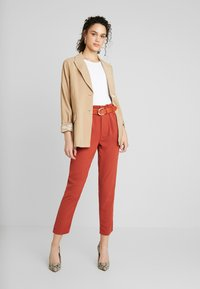 Even&Odd - Trousers - rusty red - 1