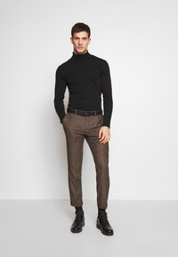 Shelby & Sons - BARAH TROUSER - Trousers - brown - 1