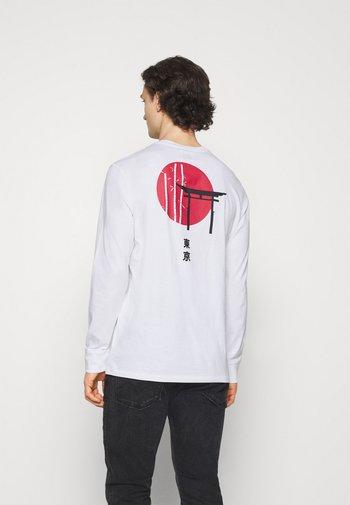 ONSTOMO LIFE TEE - Long sleeved top - white
