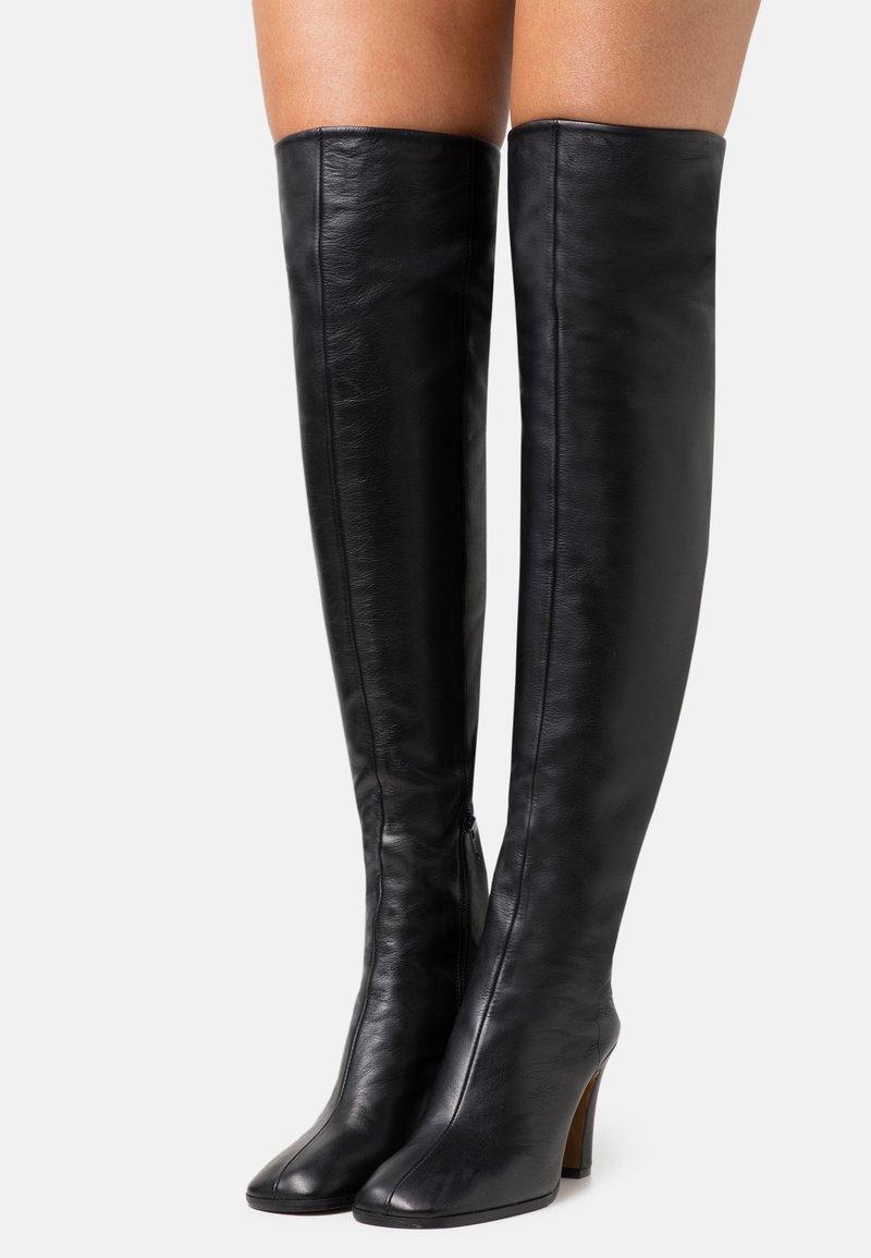 ARKET - High heeled boots - black