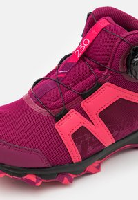 adidas Performance - TERREX BOA MID R.RDY UNISEX - Hiking shoes - power berry/power pink/footwear white - 5