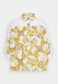 Versace Jeans Couture - Button-down blouse - bianco ottico - 6