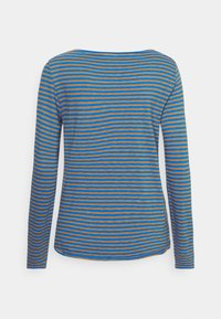 Marc O'Polo DENIM - LONG SLEEVE CREW NECK STRIPED - Long sleeved top - multi/cornflower - 1
