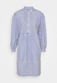 CHAUCER TUNIC DRESS - Day dress - ivory/navy