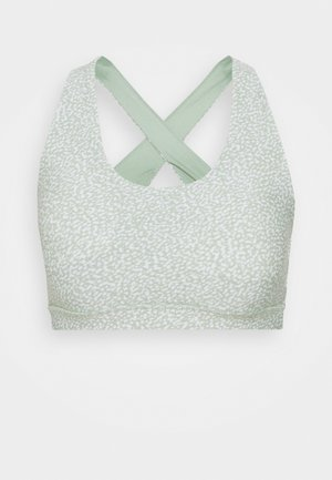 WORKOUT CUT OUT CROP - Sport-bh met light support - mint chip