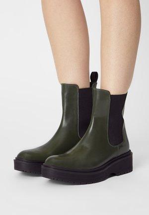 LENNA HI - Platform ankle boots - dark khaki