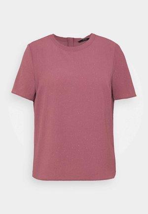 VMAYA ZIP  - Print T-shirt - rose brown