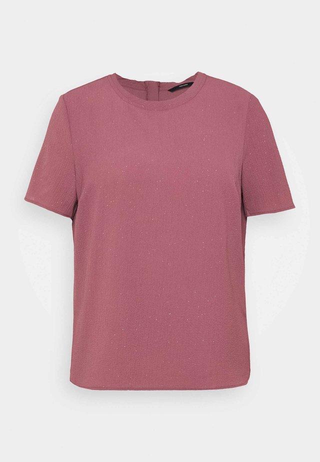 VMAYA ZIP  - T-shirt z nadrukiem - rose brown