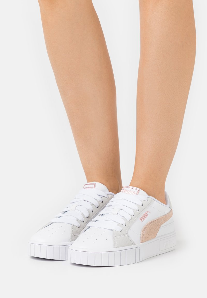 Puma - CALI STAR MIX  - Sneakers laag - white/cloud pink