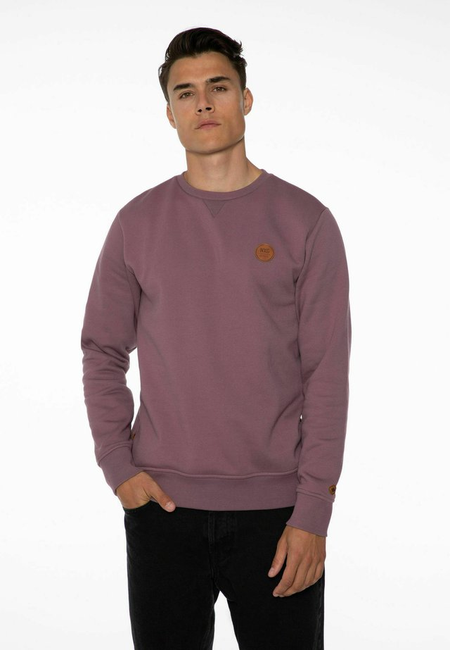 Sweatshirt - marron fabric