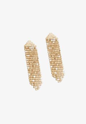 MIT MESH - Earrings - yellow