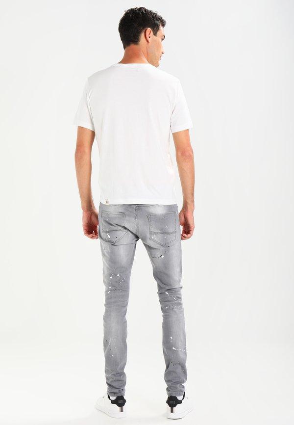 Cars Jeans CAVIN - Jeansy Slim Fit - grey used/szary denim Odzież Męska IVTQ