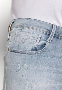 Replay Plus - Jeans Slim Fit - hellblau destroyed - 5