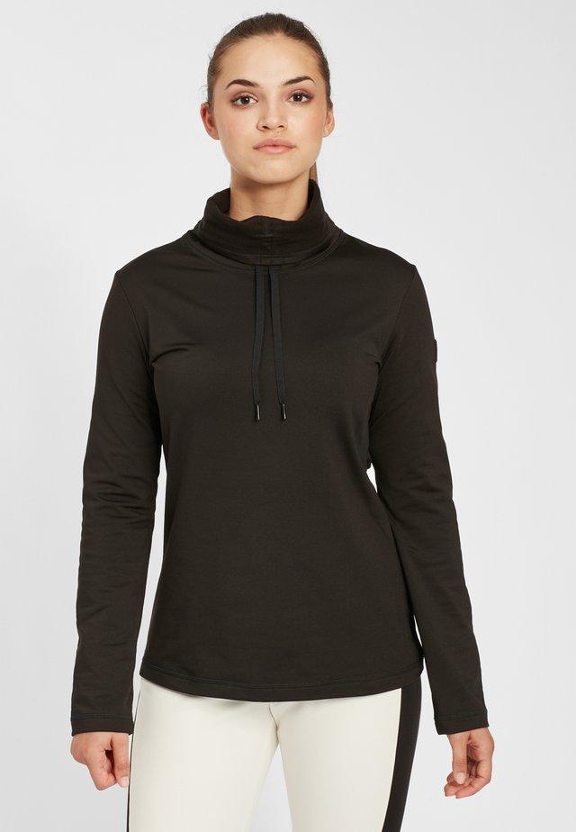 CLIME - Fleece jumper - black out