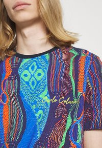Carlo Colucci - MULTIPACK SET - Print T-shirt - navy - 3