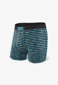 SAXX Underwear - VIBE TRUNK - Pants - Black Space Hiker Stripe - 2