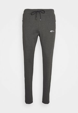 SMOOTH - Tracksuit bottoms - anthrazit