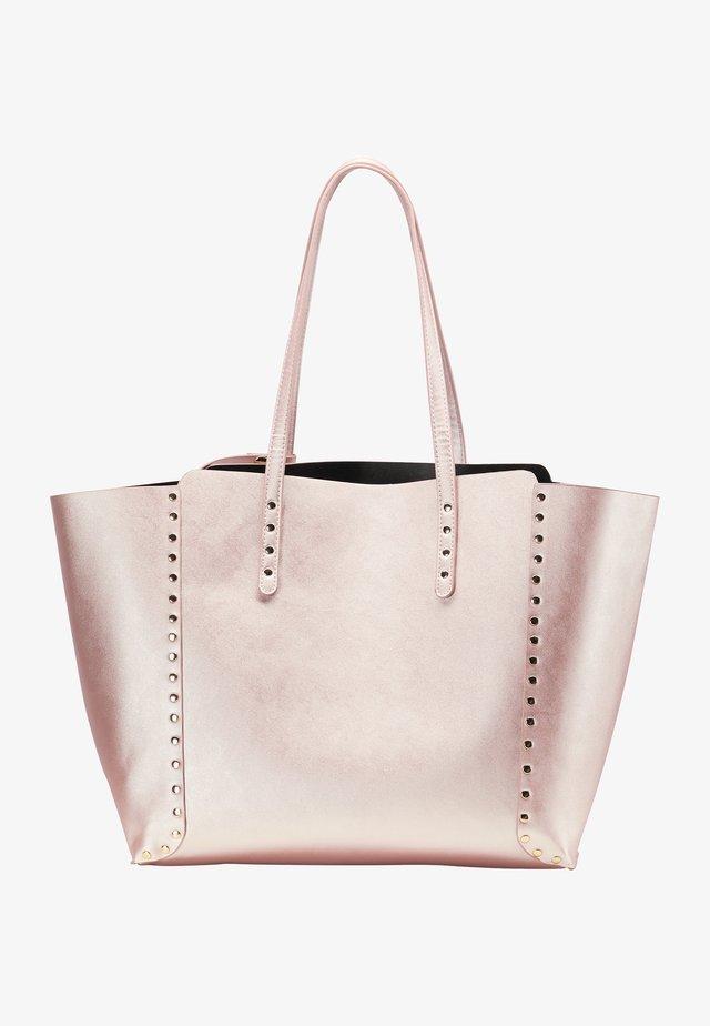 Velká kabelka - rosa metallic