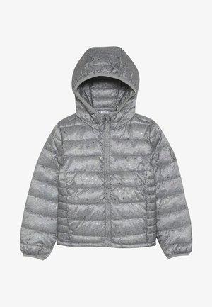 GIRL PRNT PUFFER - Zimní bunda - navy uniform