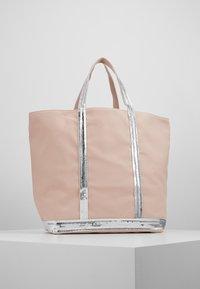 Vanessa Bruno - CABAS MOYEN - Shopping Bag - rose/argent - 2