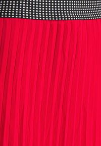 Simply Be - PLISSE MIDI SKIRT - A-line skirt - oxy red - 7