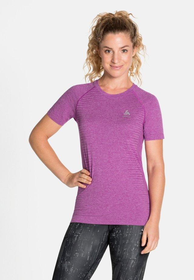 SEAMLESS - Print T-shirt - hyacinth violet melange