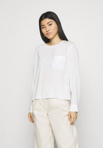 BLOUSE LONGSLEEVE - Long sleeved top - scandinavian white