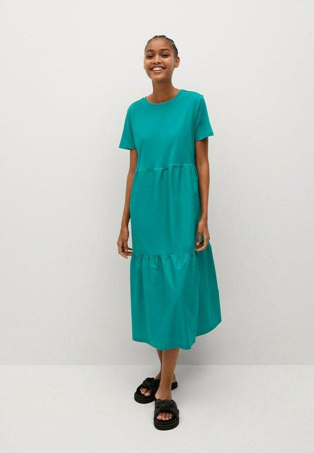 DUOLA-L - Sukienka letnia - emerald green