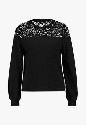 ONLCATALINA O NECK PLAIN - Sweatshirt - black