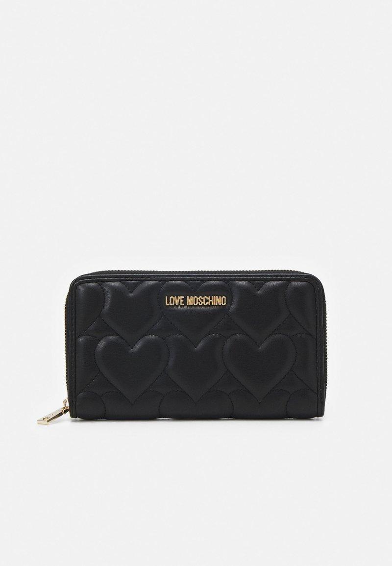 Love Moschino - LOGO WALLET - Wallet - nero