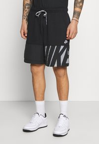 Nike Sportswear - Shorts - black/particle grey/white - 0