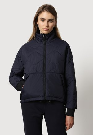 A-CIRCULAR PUFFER - Winter jacket - blu marine
