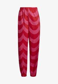 adidas Originals - X MARIMEKKO - Jogginghose - vivid red/team real magenta - 4