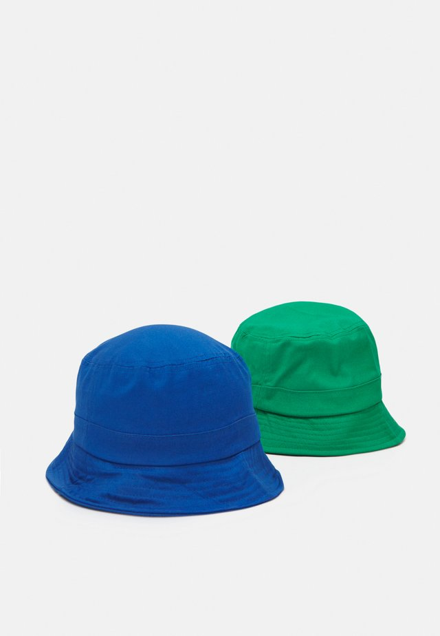 NKNBOBBY HAT 2 PACK UNISEX - Klobouk - campanula/medium green