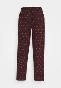 Pier One - Pyžamový spodní díl - bordeaux - 1