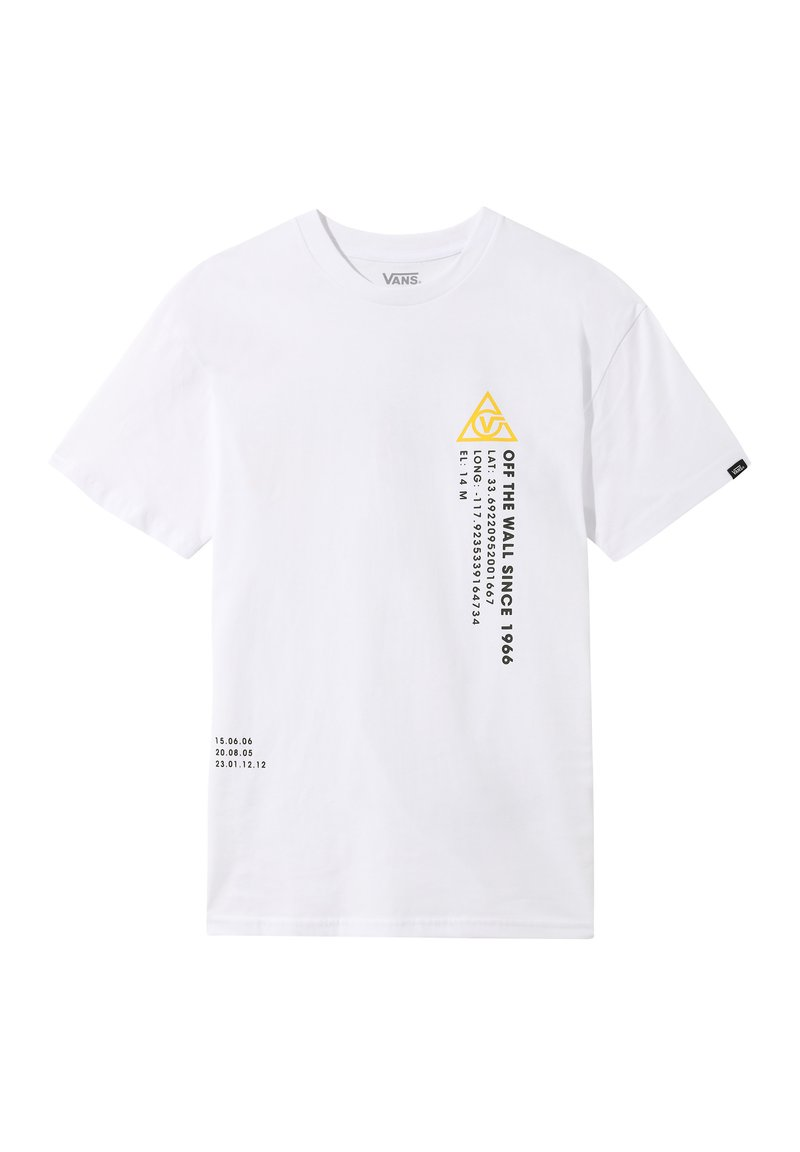 Vans - 66 SUPPLY - Print T-shirt - white