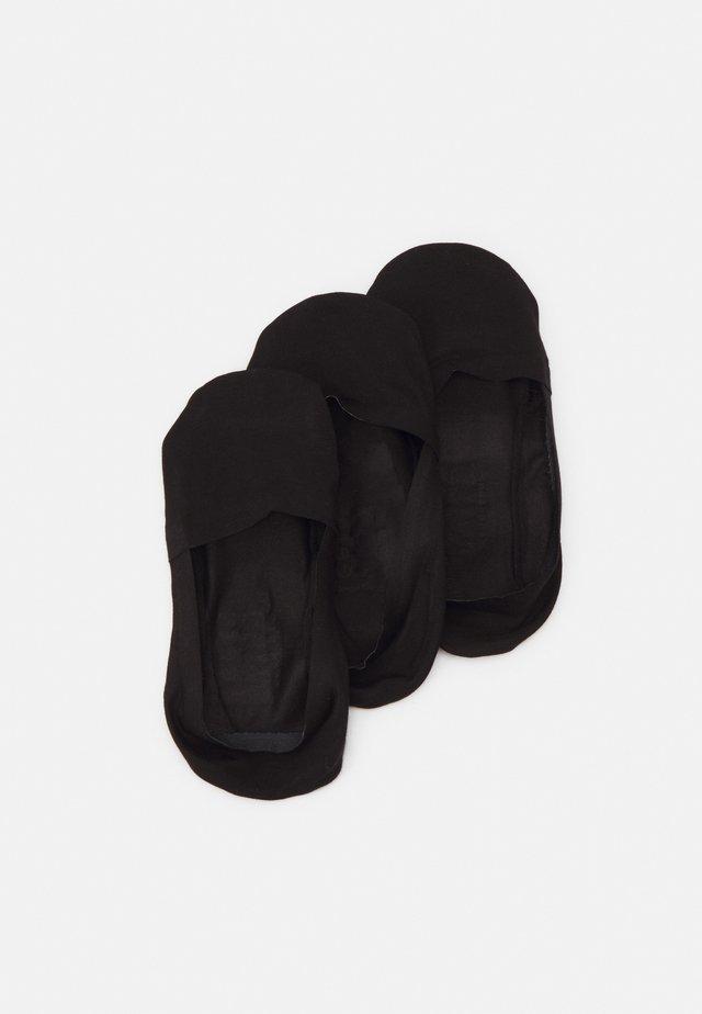 INVISIBLE SOCKS 3 PACK - Calzini - black