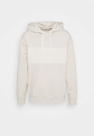 RELAXED FIT NOVELTY HOOD UNISEX - Bluza z kapturem - dye tofu